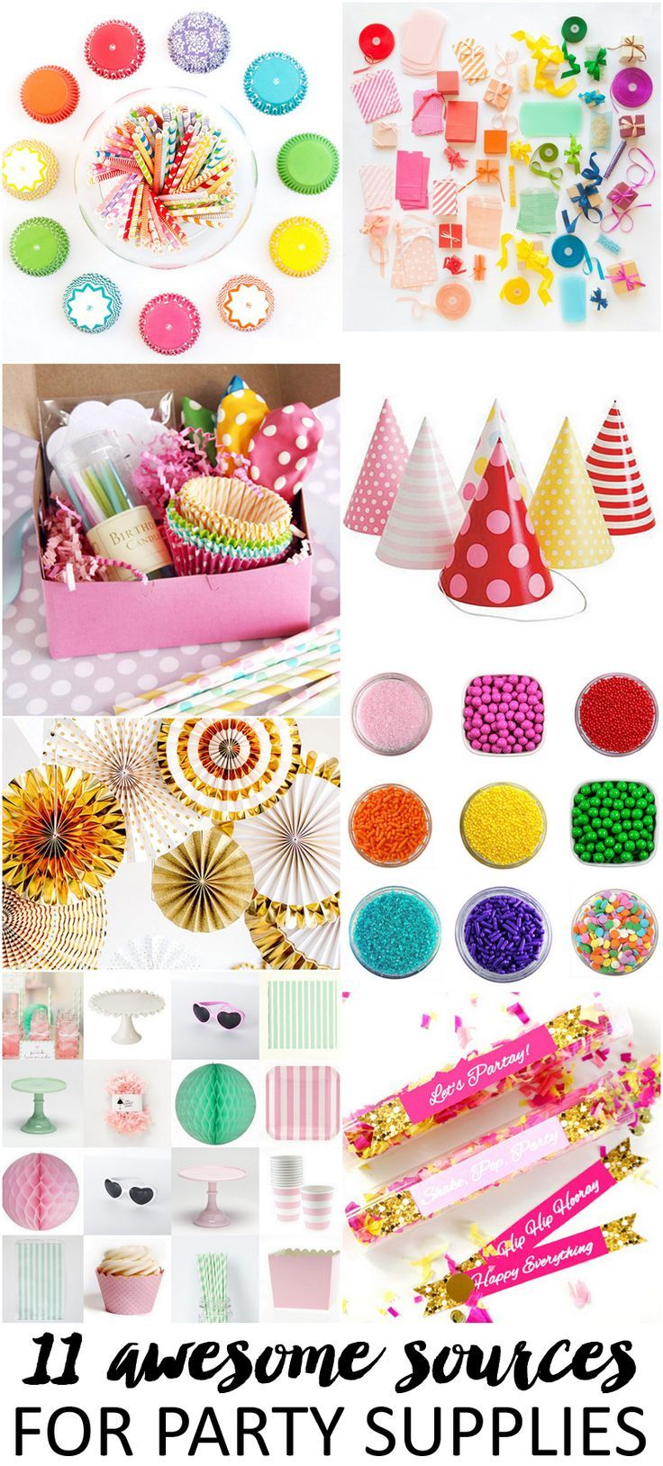 11 Awesome Sources for Party Supplies
