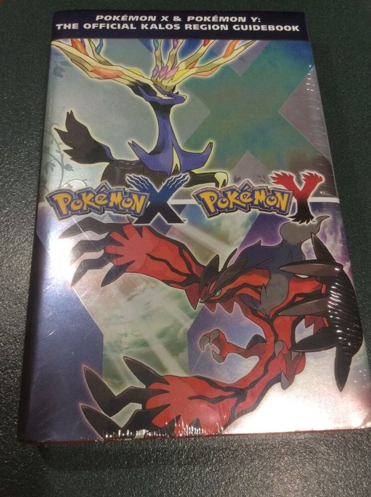 Pokemon X & Pokemon Y The Official Kalos Region Guidebook Brand New Shrinkwrap  | eBay
