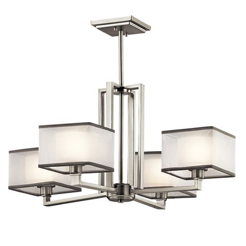 WIA-01166-NI Modern Pendant Light. Custom Lighting