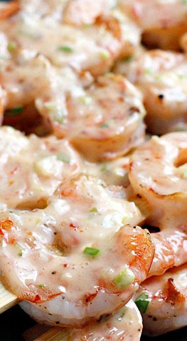 Bangin' Grilled Shrimp Skewers | Grilled Shrimp Skewers, Shrimp ...