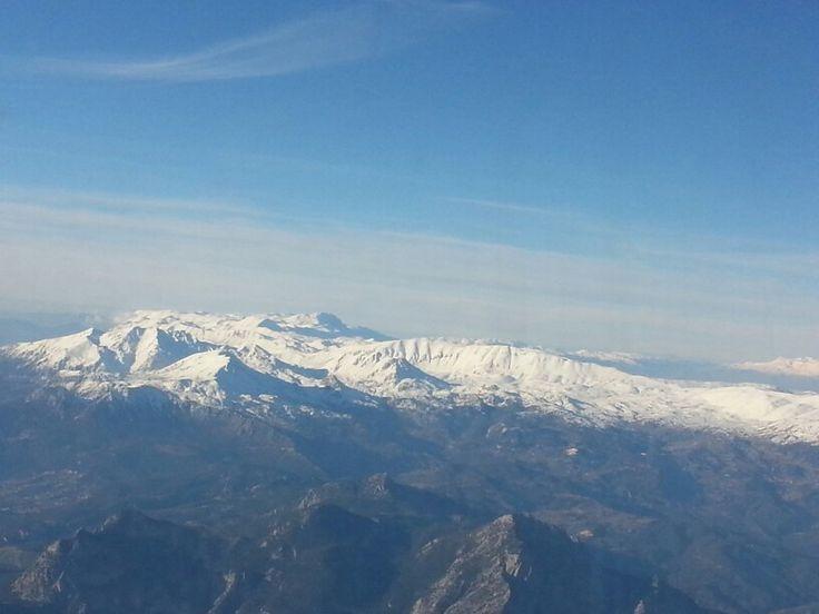 Karlı Dağ Sırtları