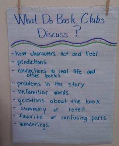 Esto hacemos en el club del Libro
