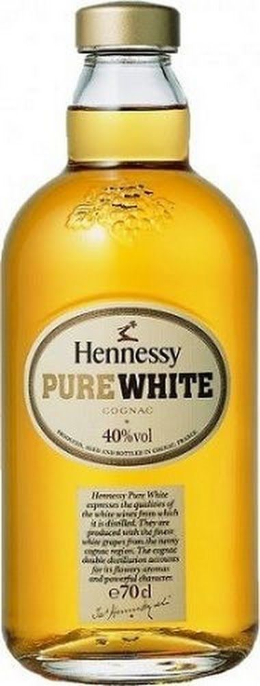 White Hennessy...love it