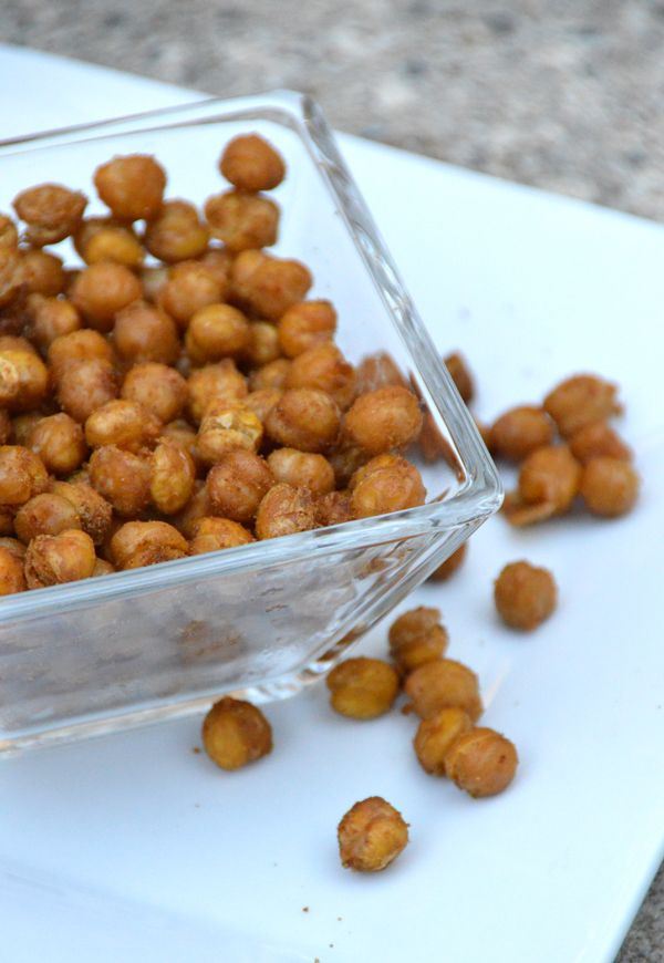 Roasted Spiced Chickpeas | to try | Pinterest | Chickpeas, Snacks and ...