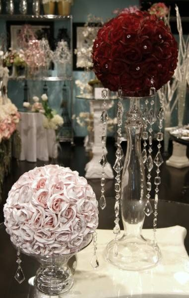 22 Best Images About Kissing Ball Centerpieces On