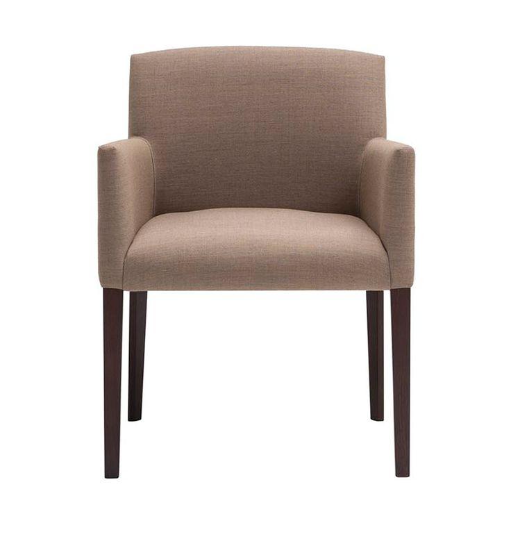 Stuhl Mit Armlehne Und Polster: Design Von Andreu World