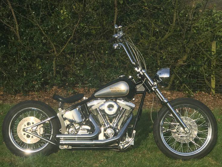 2005 Harley Davidson Bare Bones Softail Custom Bobber Chopper   #2005 #bare #Bobber #Bones #Chopper #CUSTOM #Harley-Davidson #Softail