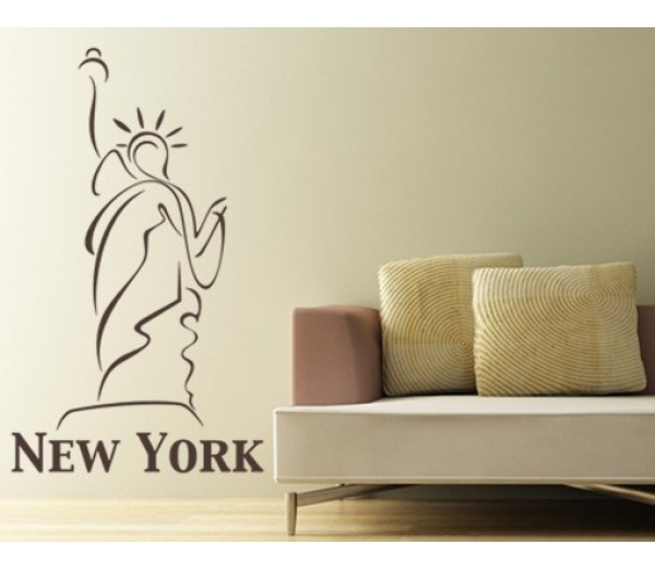 Statue Of Liberty Wall Decal Part 53