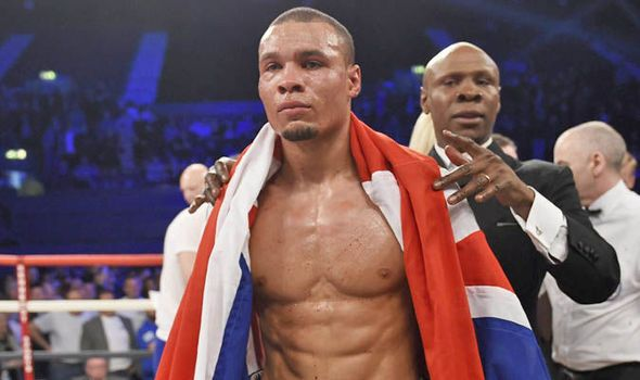Chris Eubank Jr reminisced about Michael Watson as Nick Blackwell was cared for