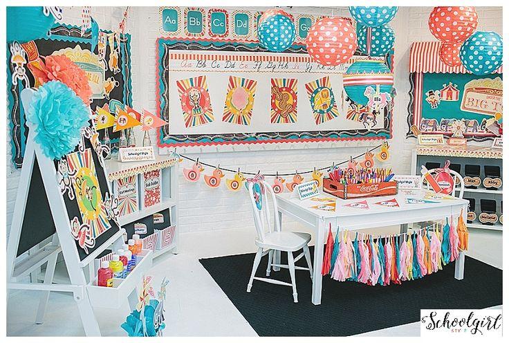 Pastel circus theme!