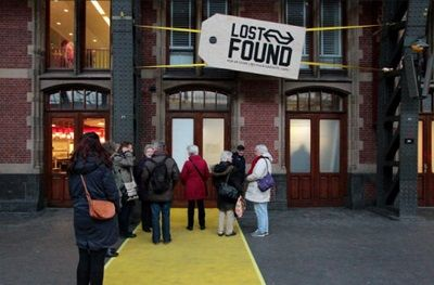The 'Lost and Found Project' is an exhibition and popup shop which gives a stylish new lease of life to objects which have been left behind by Dutch commuters on the national rail network. http://startacus.net/culture/the-lost-and-found-popup