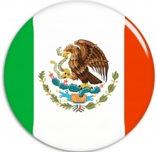 Maybe if I wore a badge, I'd convince myself I'm really am Mexican, it's an identity crisis. Mexican Flag Badge photo from stock.xchng