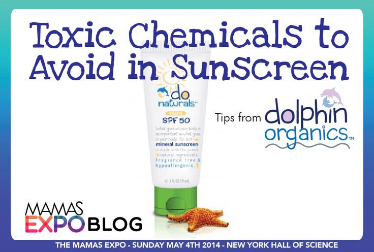 Toxic Chemicals to Avoid in Sunscreen – Tips from Dolphin Organics - The Mamas Expo Blog