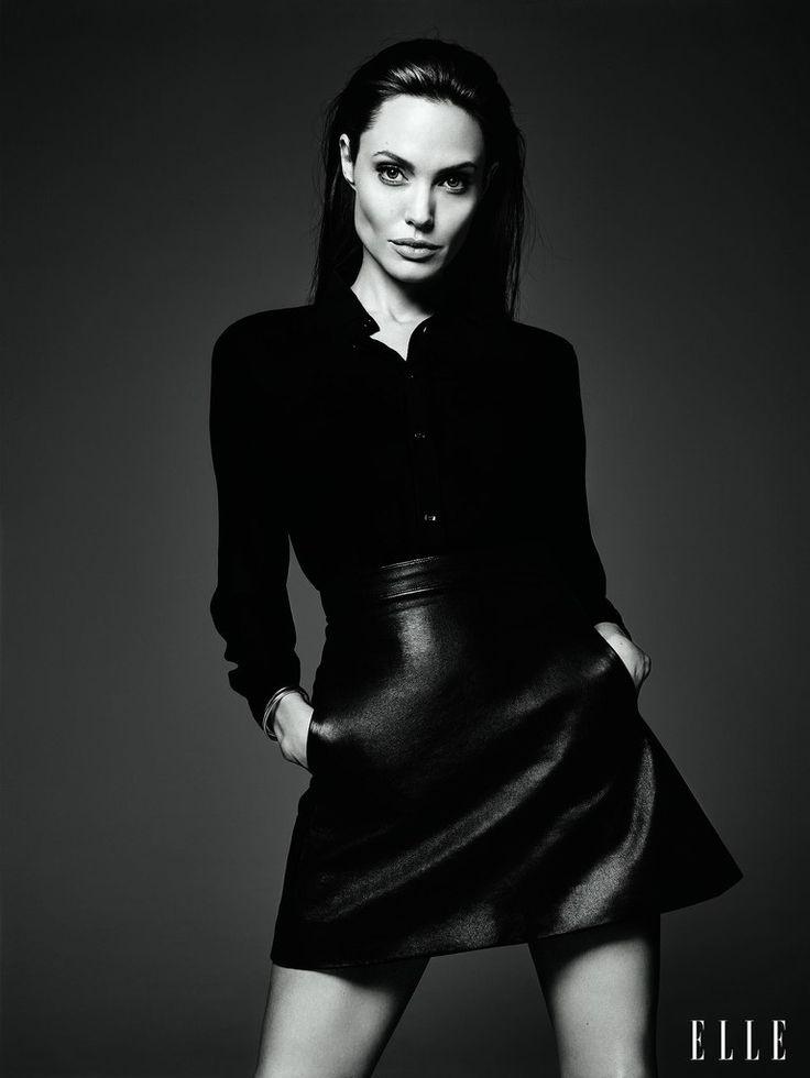 прямой силуэт Angelina Jolie3