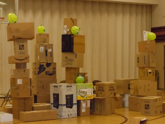 Angry Birds Game (Life Size) (great combined YW/YM activity)