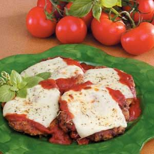 Cubed Steaks Parmigiana Recipe - always good to have some cubed steak recipes on hand, because it's so dang cheap.