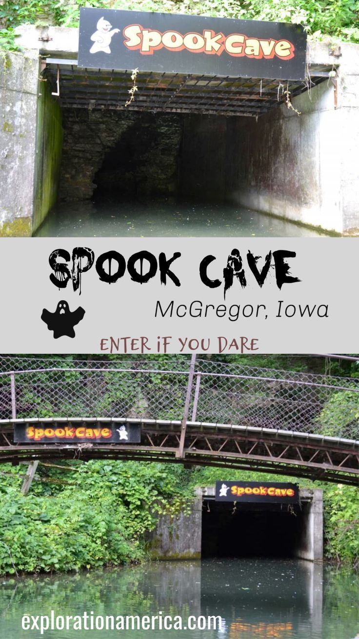 Spook Cave Campground In Mcgregor Iowa In 2020 Iowa Travel