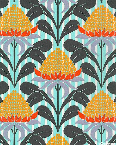 Australian Import - Terra Australis - Quilt fabrics from www.eQuilter.com