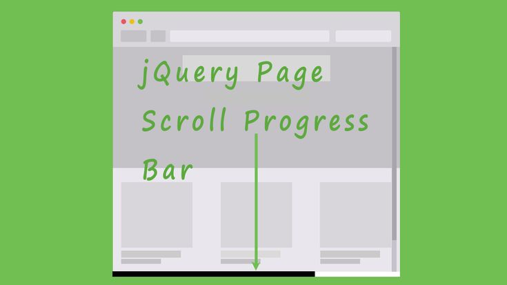 This compact jQuery script adds a sleek progress bar to either the top or bottom of the page to give your visitors a better sense of how far they are along the page as they scroll up and down