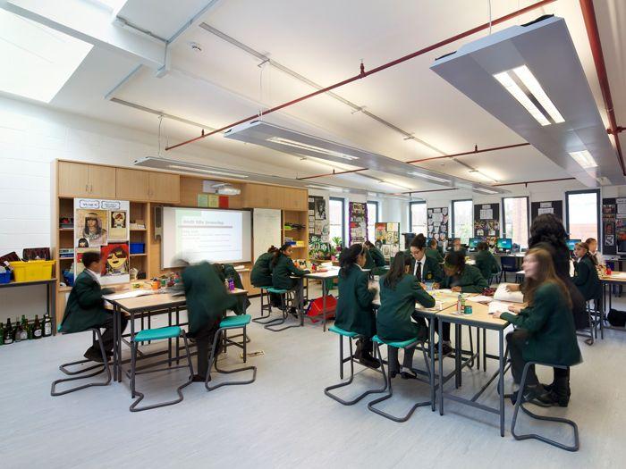 Hainault Forest High School Essex RefurbishmentHigh Schools Forests