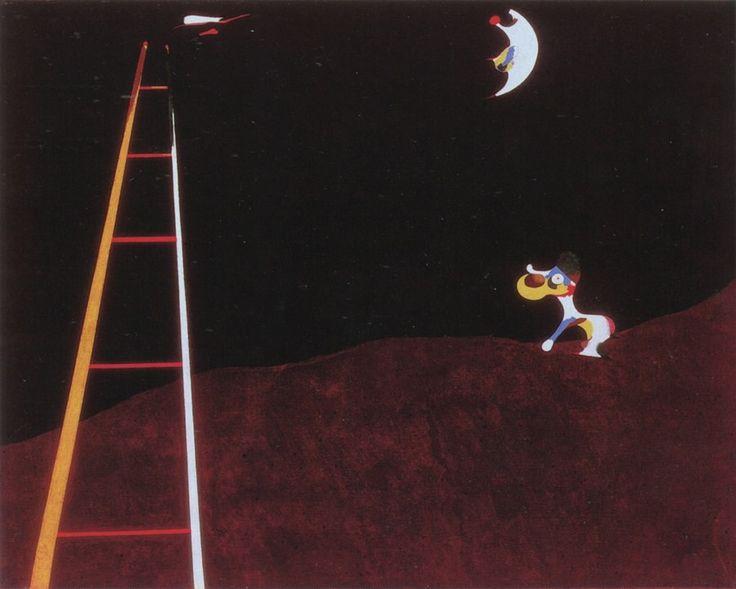 Dog Barking at the Moon, 1926 by Joan Miro