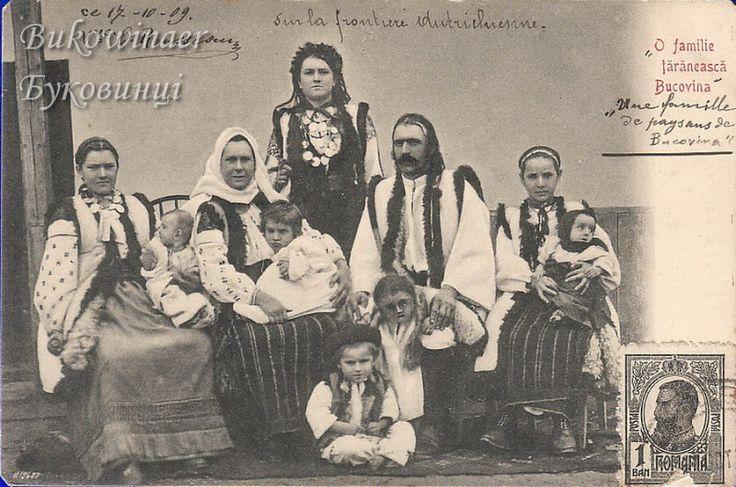 Bukovina, Ukraine. Traditional costume. Folk dress. Old Photos. Bukowinaer - Старі фото. Буковинці - Edward Tur - Picasa Albums Web