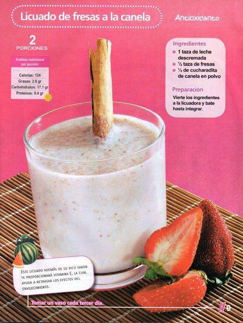 Licuado antioxidante