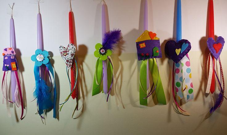 Sophia's crafts- Λαμπάδες