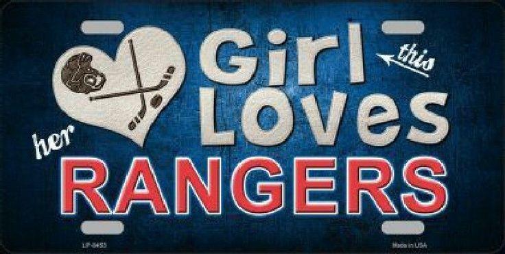 This Girl Loves Her Rangers Team #NewYorkRangers