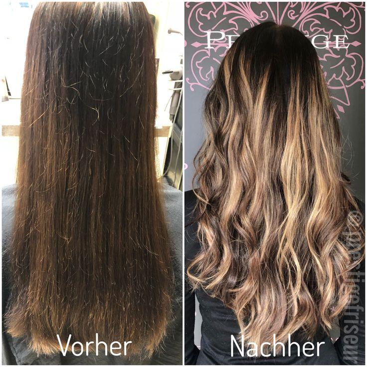 Balayage braun blond lang lange haare ombre dein premium salon in cottbus unsere arbeiten - Balayage braun blond ...