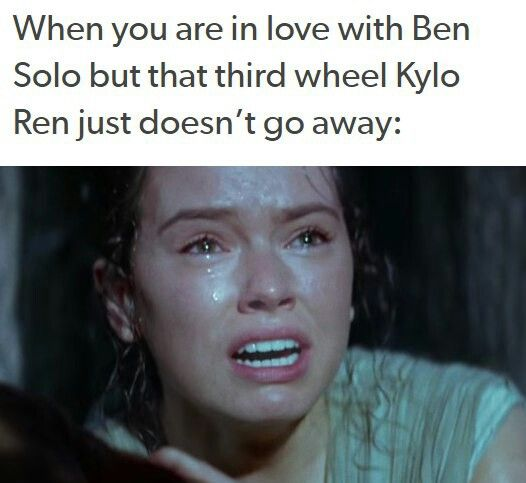Kylo and Rey and Ben.