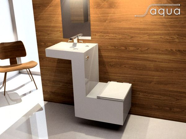 Saqua sink/toilet design