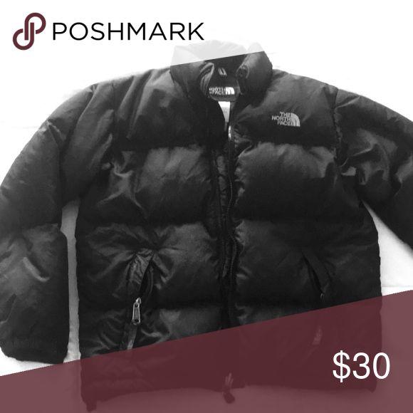 Kids North Face jacket Black puffer NorthFace jacket Medium Unisex Jackets & Coats Puffers