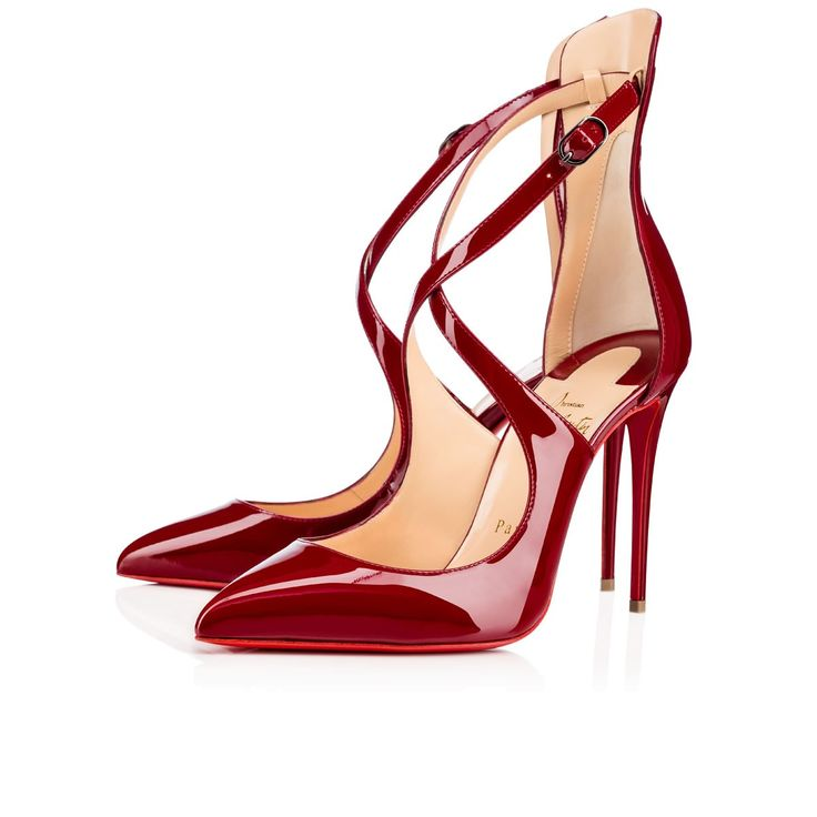 Women Shoes - Marlenarock Patent - Christian Louboutin