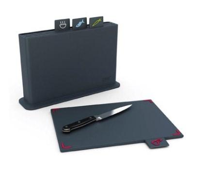 Joseph Joseph LARGE Index Advance Chopping Board Set - Grey $87.95
