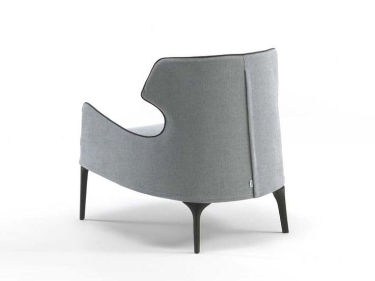 CROSBY Sessel aus Stoff by FRIGERIO POLTRONE E DIVANI