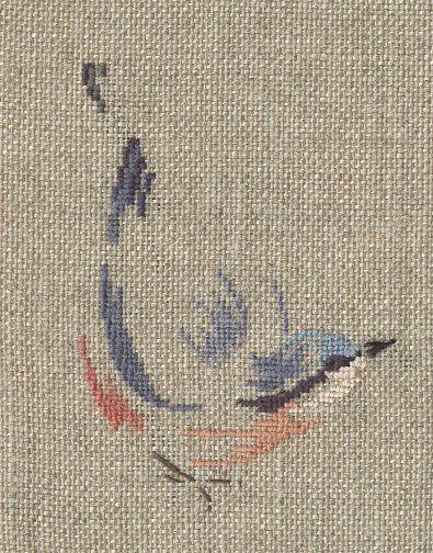 Sitelle Torchepot par Marie-Thérèse St Aubin, subtile!