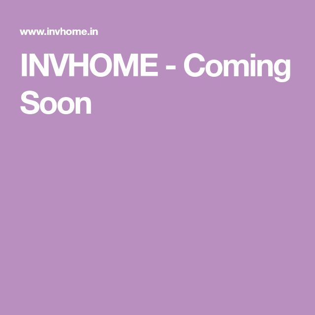 INVHOME - Coming Soon