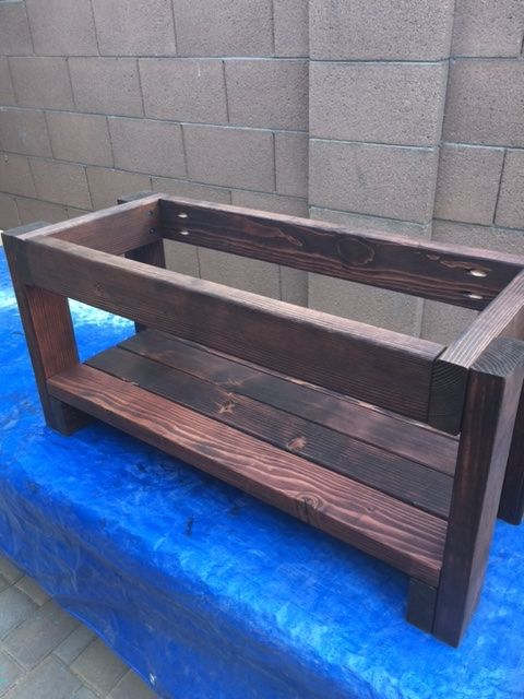 DIY Entryway Bench – DIY Average Joe