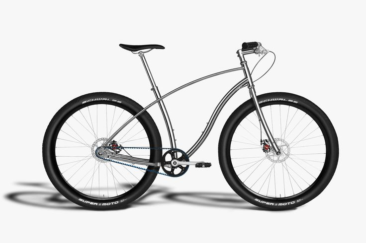 Example of a clean and simple design with a bicycle. Source - http://budnitzbicycles.com/