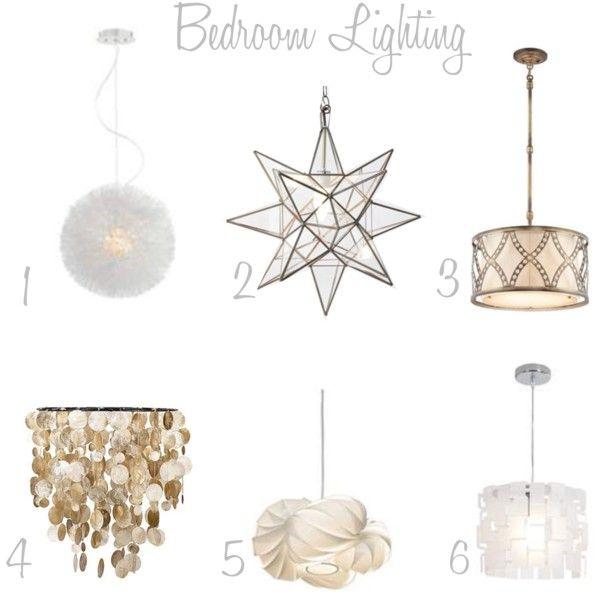 love these bedroom lighting options, especially capiz chandelier for $70