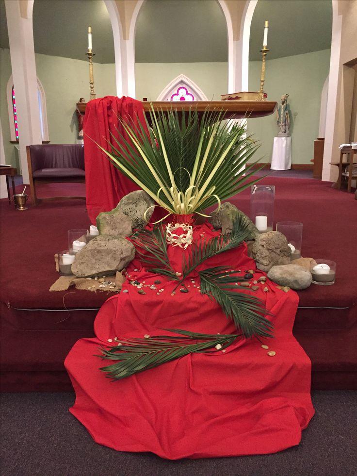 Best 25 palm sunday 2017 ideas on pinterest palm sunday for Altar decoration ideas