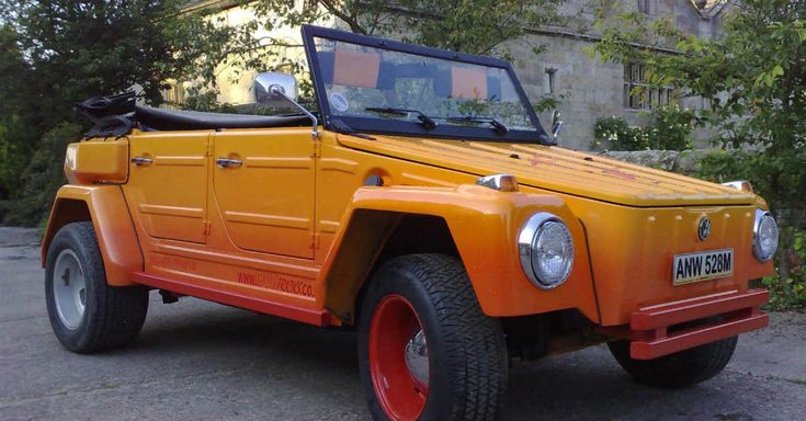 Volkswagen 181 orange