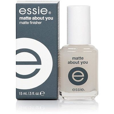 Essie Top Coat Matte About You Matte Finish .46 Ounce