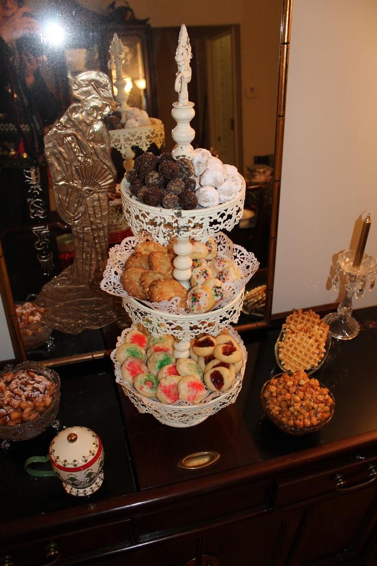 Home made Italian cookies