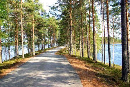 Kruunupyy Seljes ridge. Ostrobothnia province of Western Finland. - Pohjanmaa.