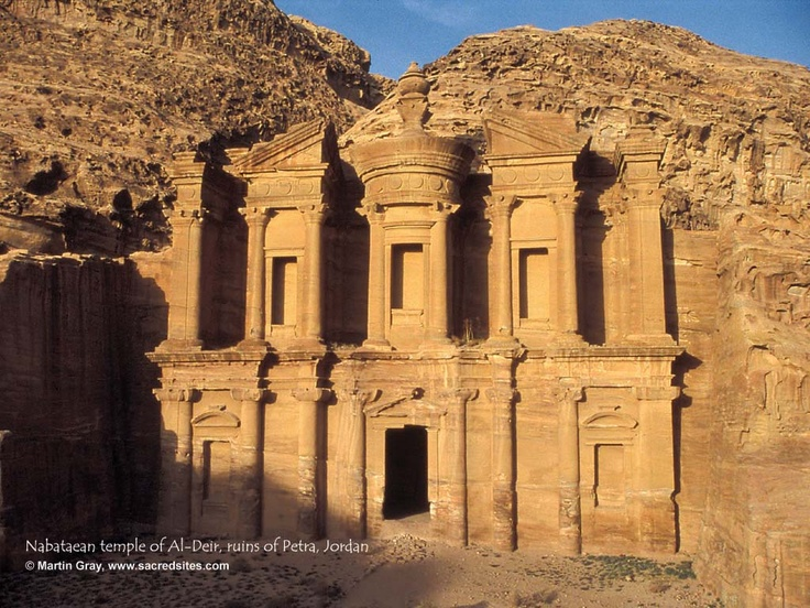 Ruins Of Petra Jordan World Travel Trip Pinterest