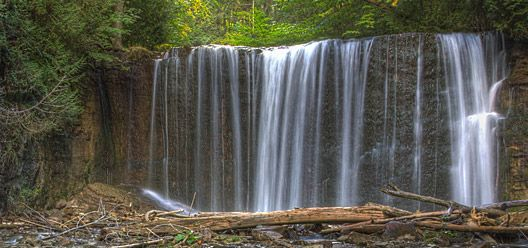Hoggs Falls, near Owen Sound, Ontario -