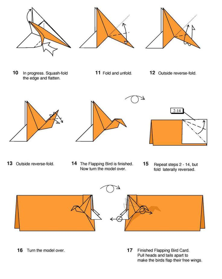 Origami Crane With Wings That Flap Origami Tutorial Lets Make It