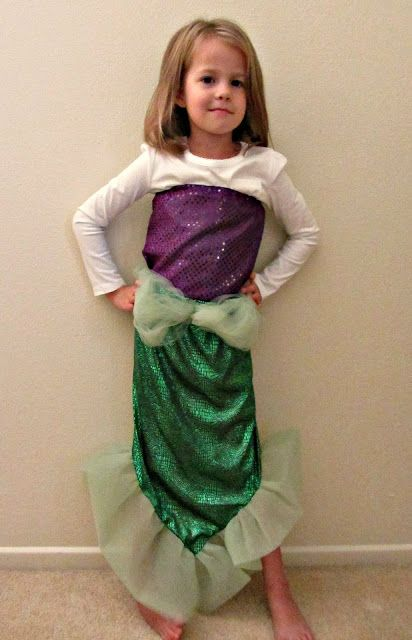 Chadwicks' Picture Place: Homemade Mermaid Costume